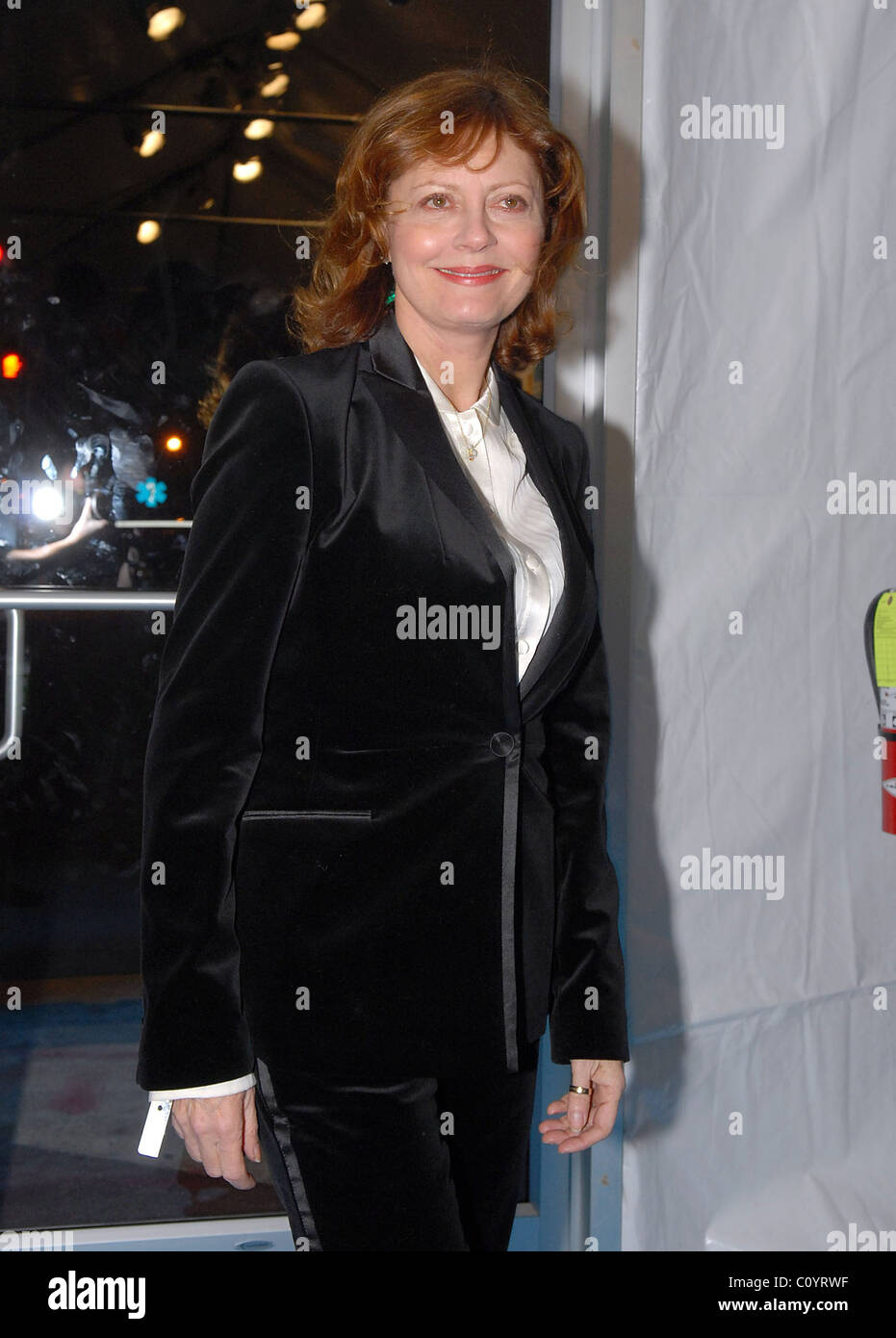 Susan Sarandon The Creative Coalition 2009 Inaugural Ball held at Sidney Harman Hall - Arrivals Washington DC, USA Stock Photo