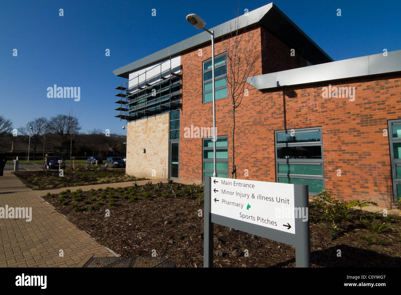 Blaydon leisure and primary care centre, New Build, Tyneside. - Stock Image