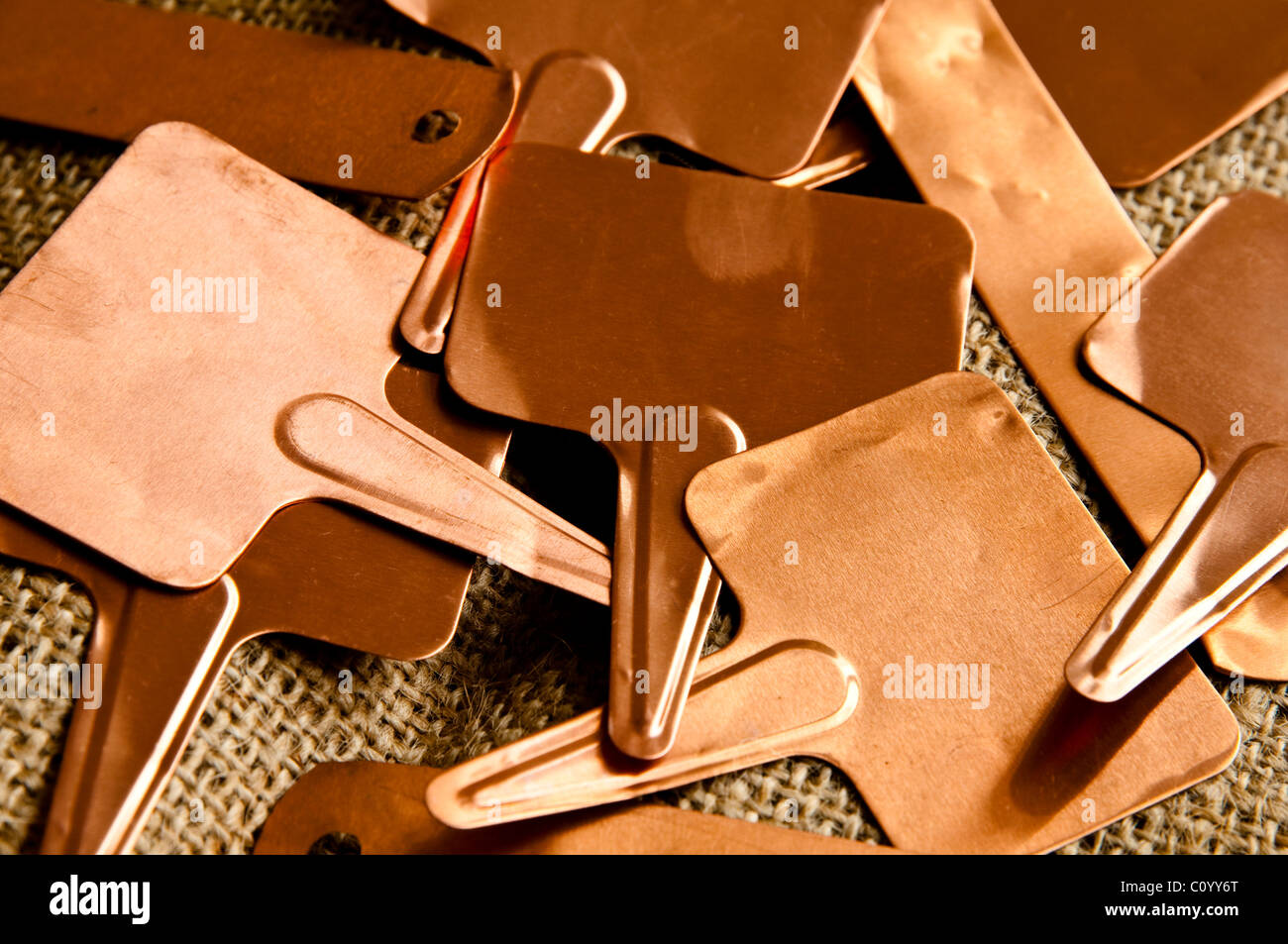 Plant Label Tags Stock Photos & Plant Label Tags Stock Images - Alamy