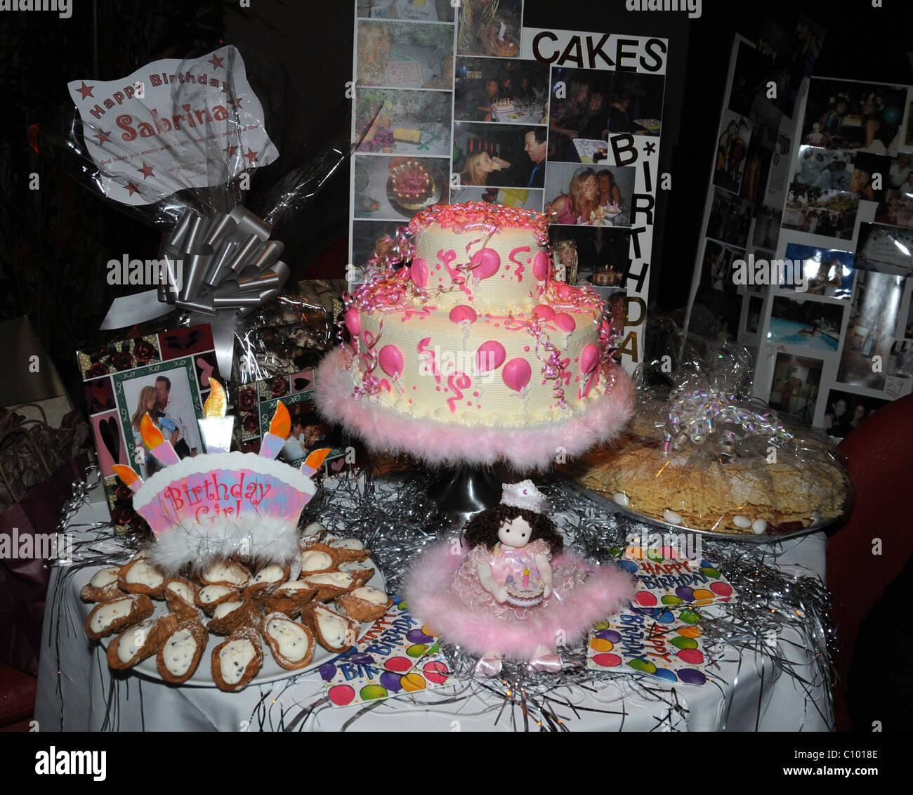 Atmosphere Birthday Cake At Socialite Sambrina Tamburino