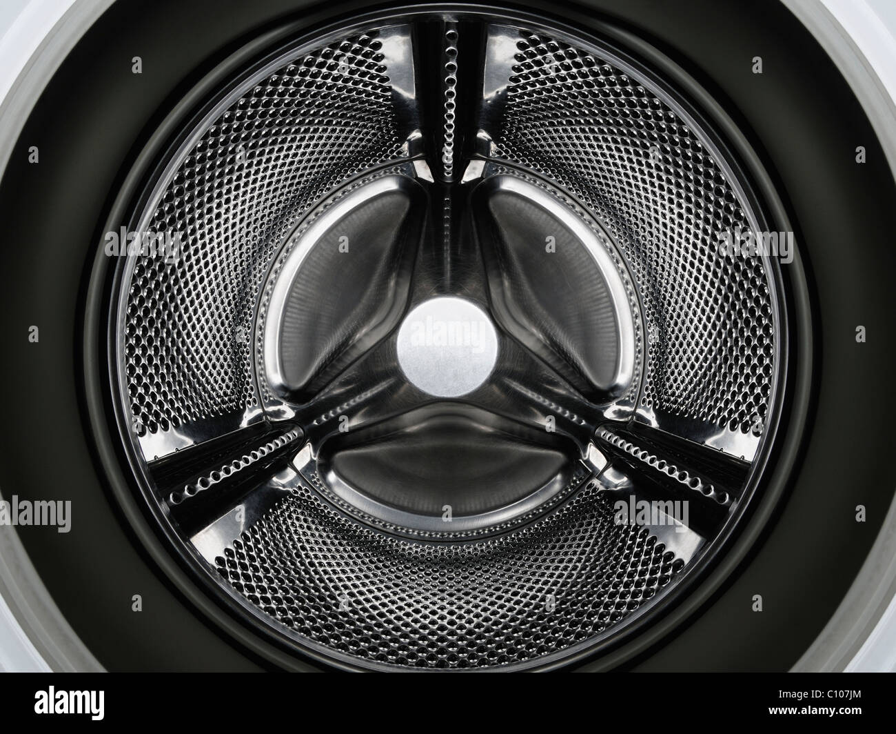 Washing Machine Drum - Stock Image