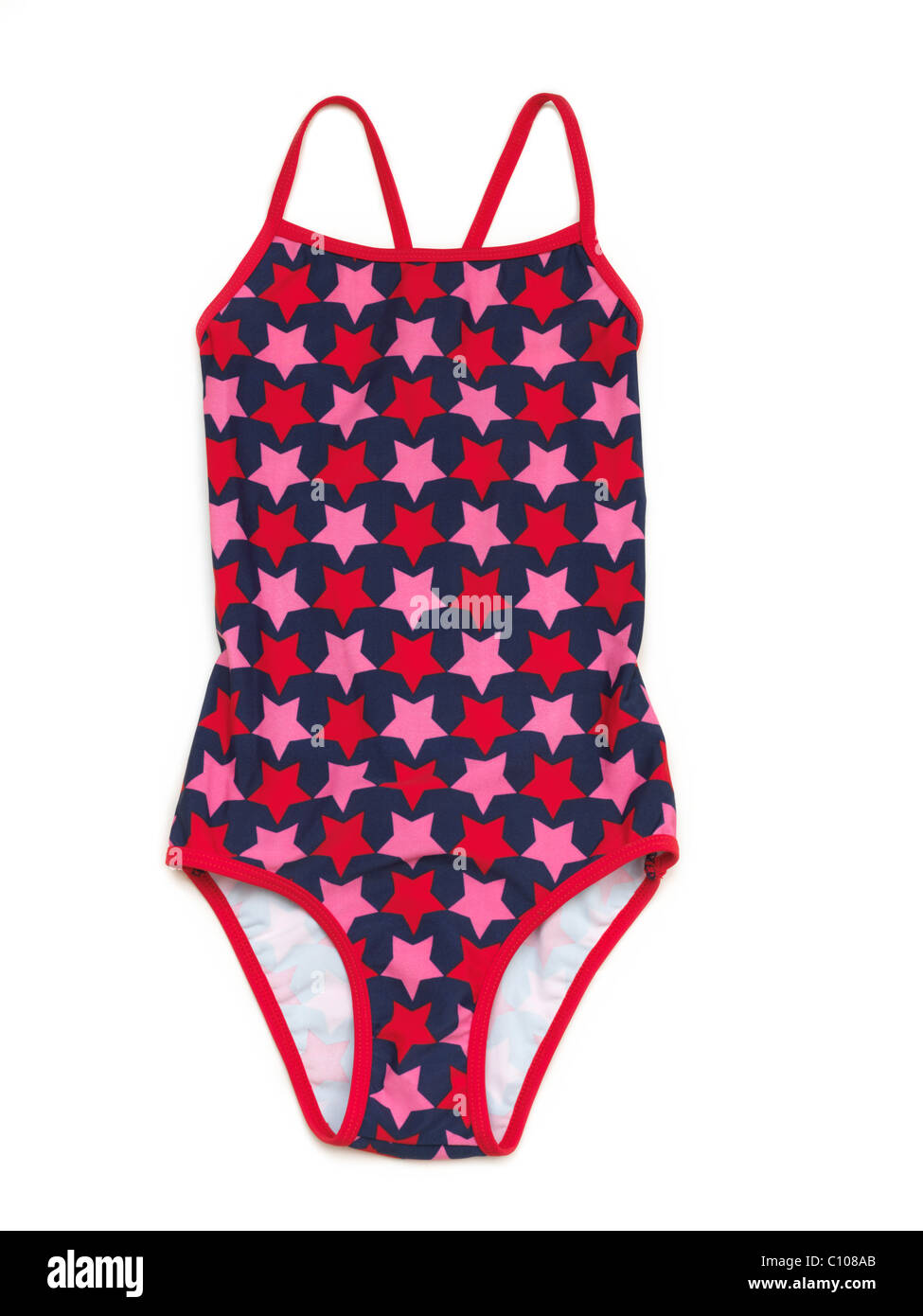 Girlu0027s Swimming Costume With A Star Pattern  sc 1 st  Alamy & Girlu0027s Swimming Costume With A Star Pattern Stock Photo: 35041955 ...