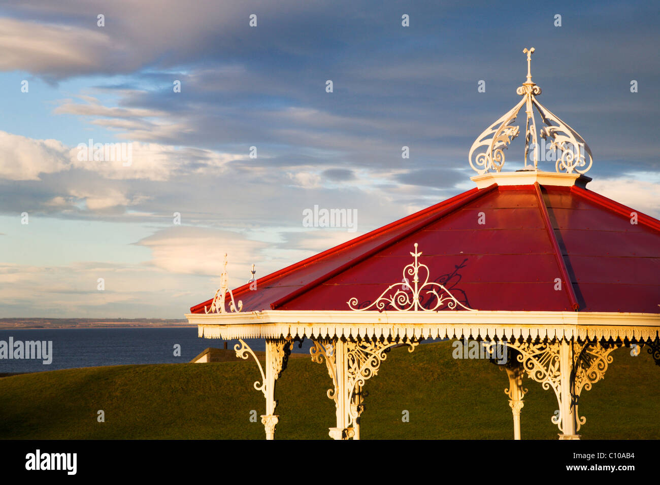 Bandstand on The Butts St Andrews Fife Scotland - Stock Image
