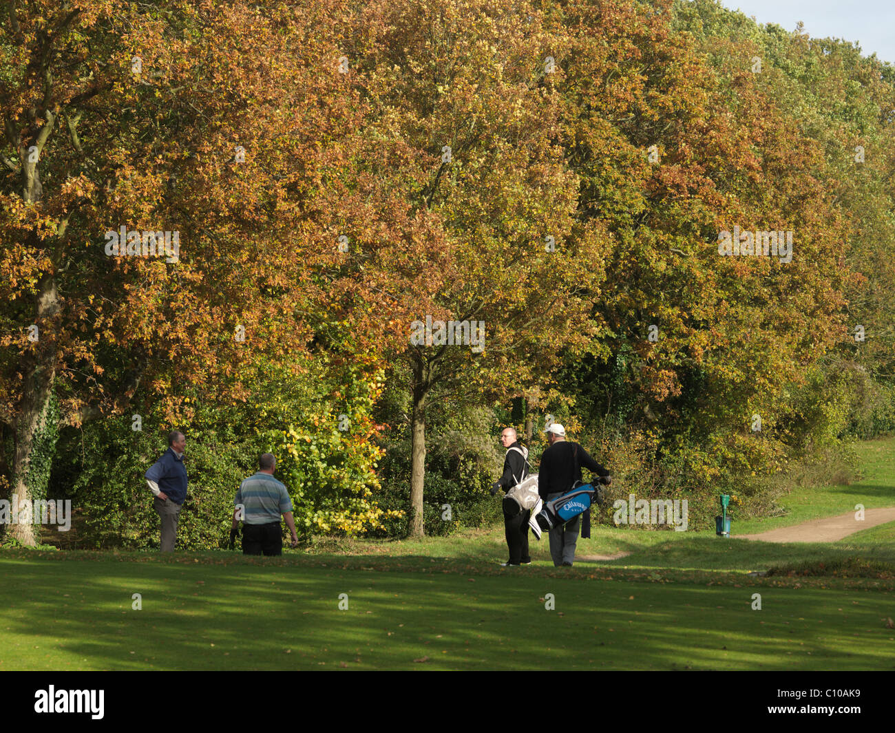 Banstead Downs Golf Club Surrey - Stock Image