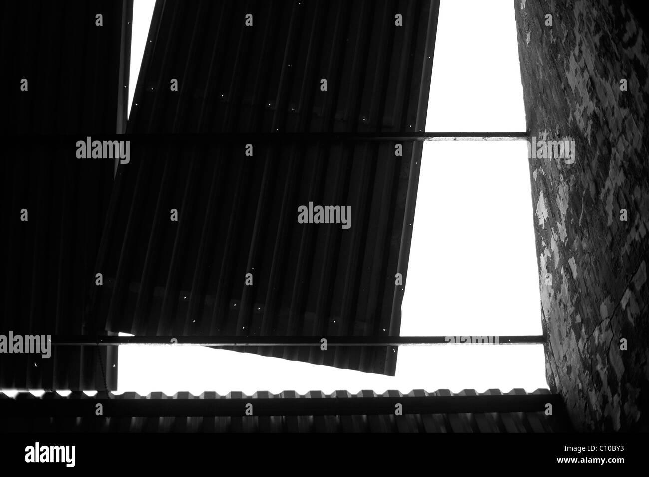 Bridge. Abstract.monochrome Stock Photo