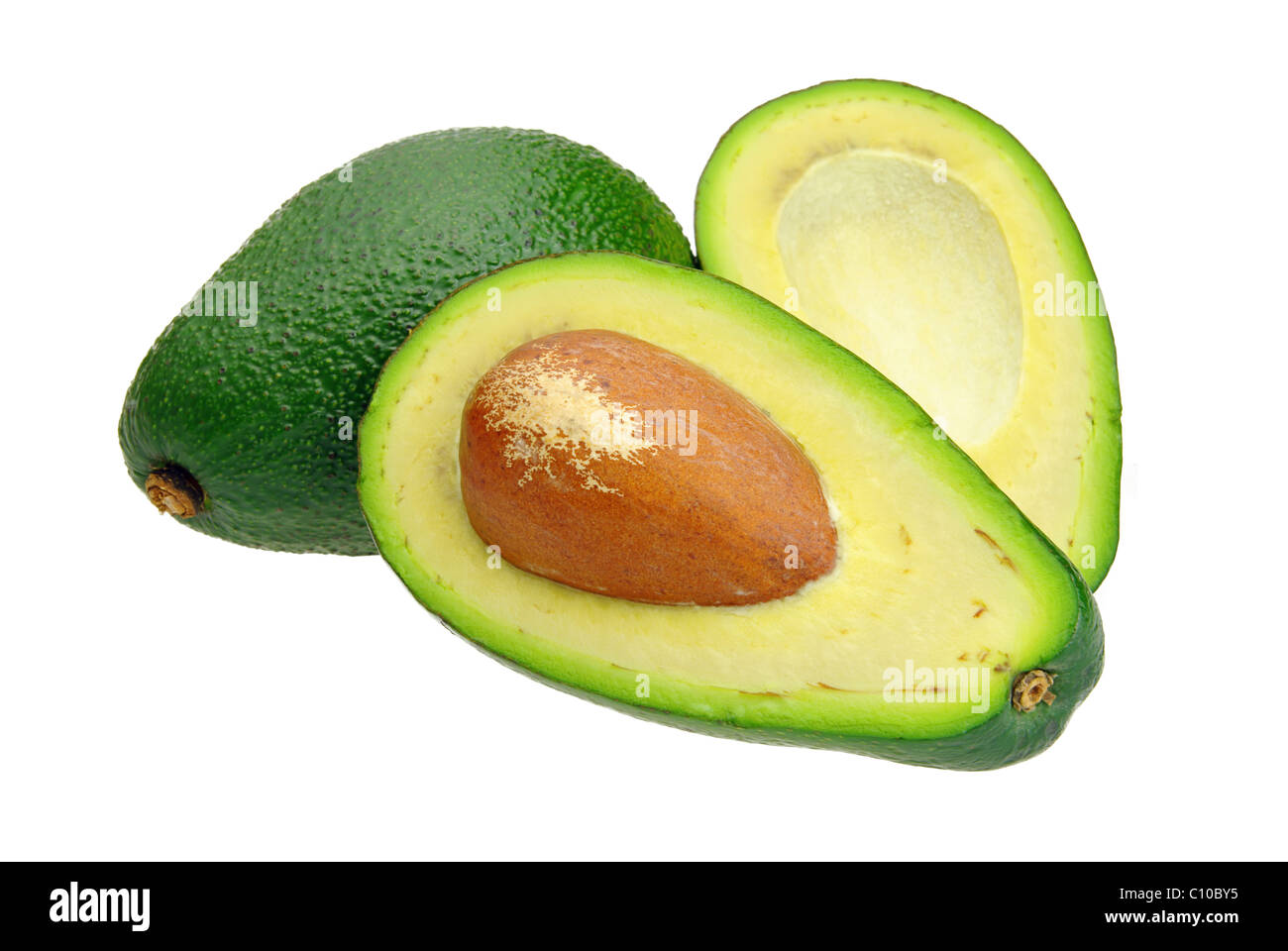 Avocado 07 - Stock Image