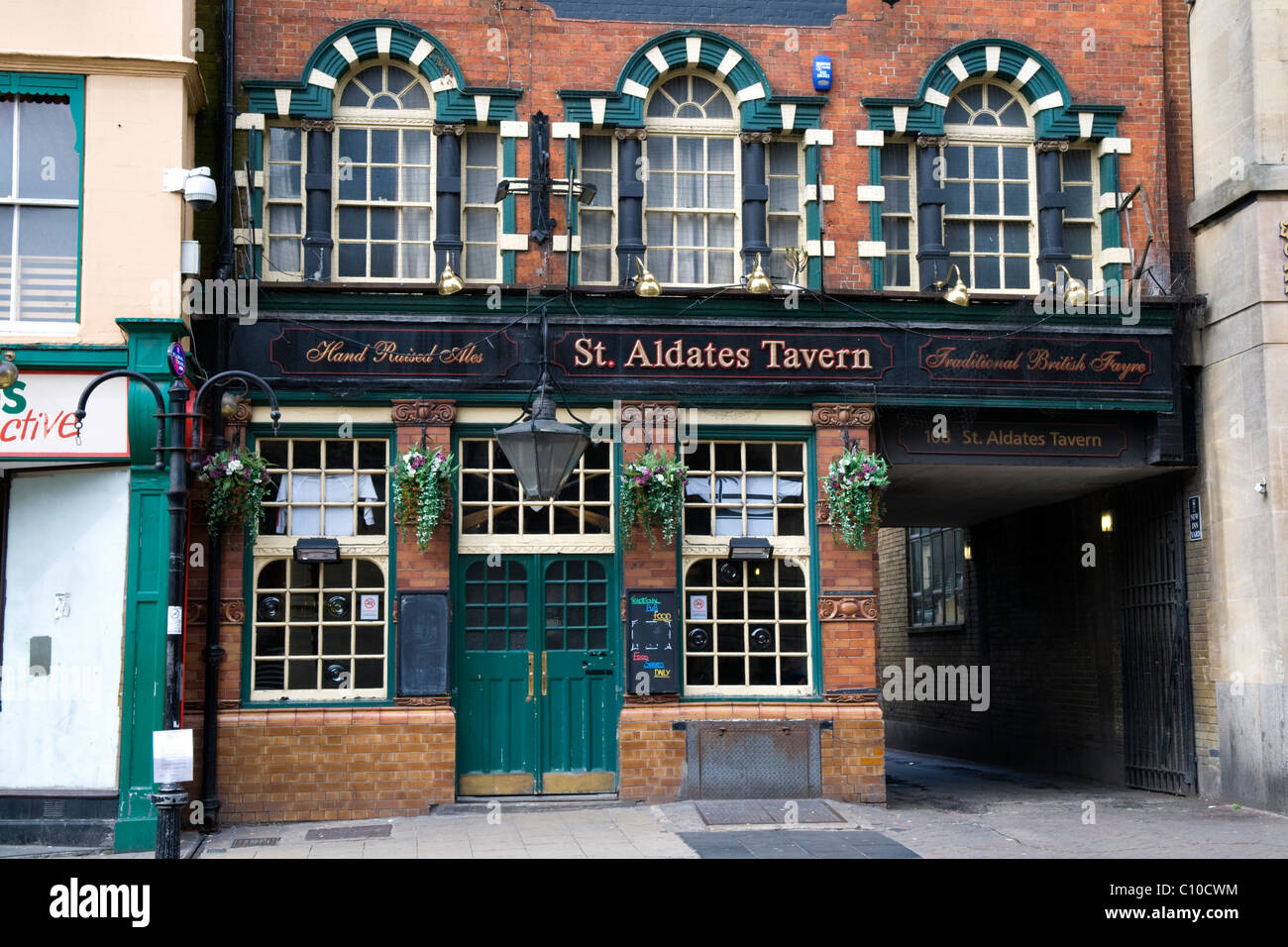 St Aldates Tavern in Oxford, England, a Traditional English Public House - Stock Image