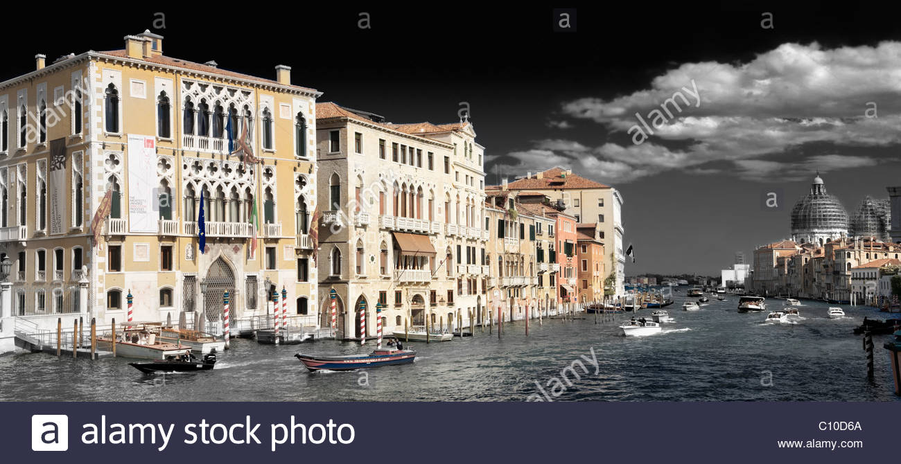 Academia grand canal - Stock Image