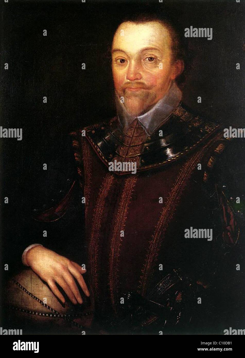 Sir Francis Drake - Stock Image
