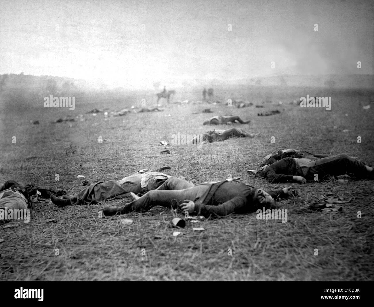 Battlefield of Gettysburg - Stock Image