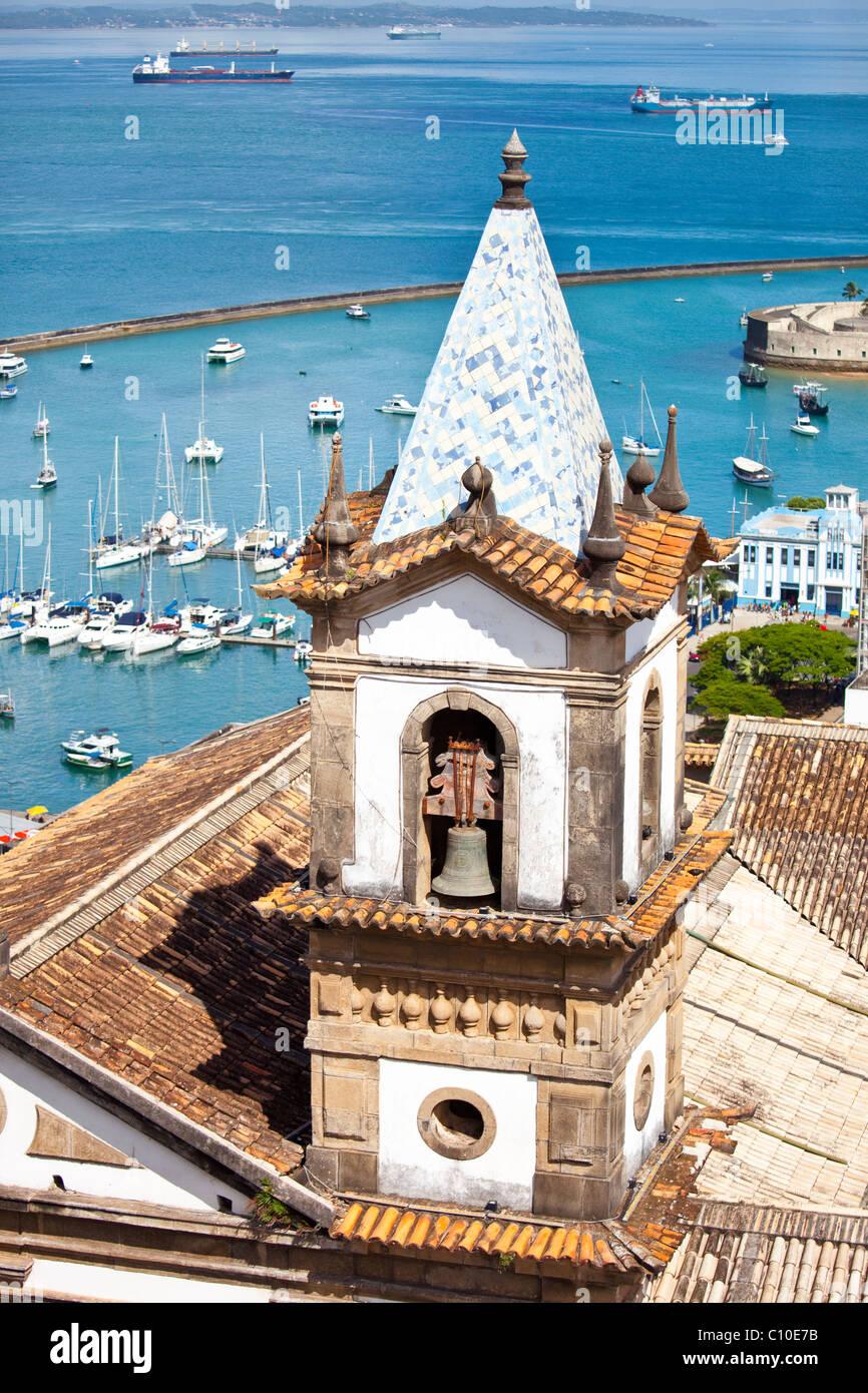 Santa Casa de Misericordia da Bahia, Salvador, Brazil Stock Photo