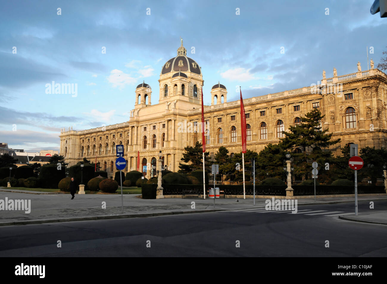 Kunsthistorisches Museum, Museum of Art History, Ringstrasse, Vienna, Austria, Europe Stock Photo