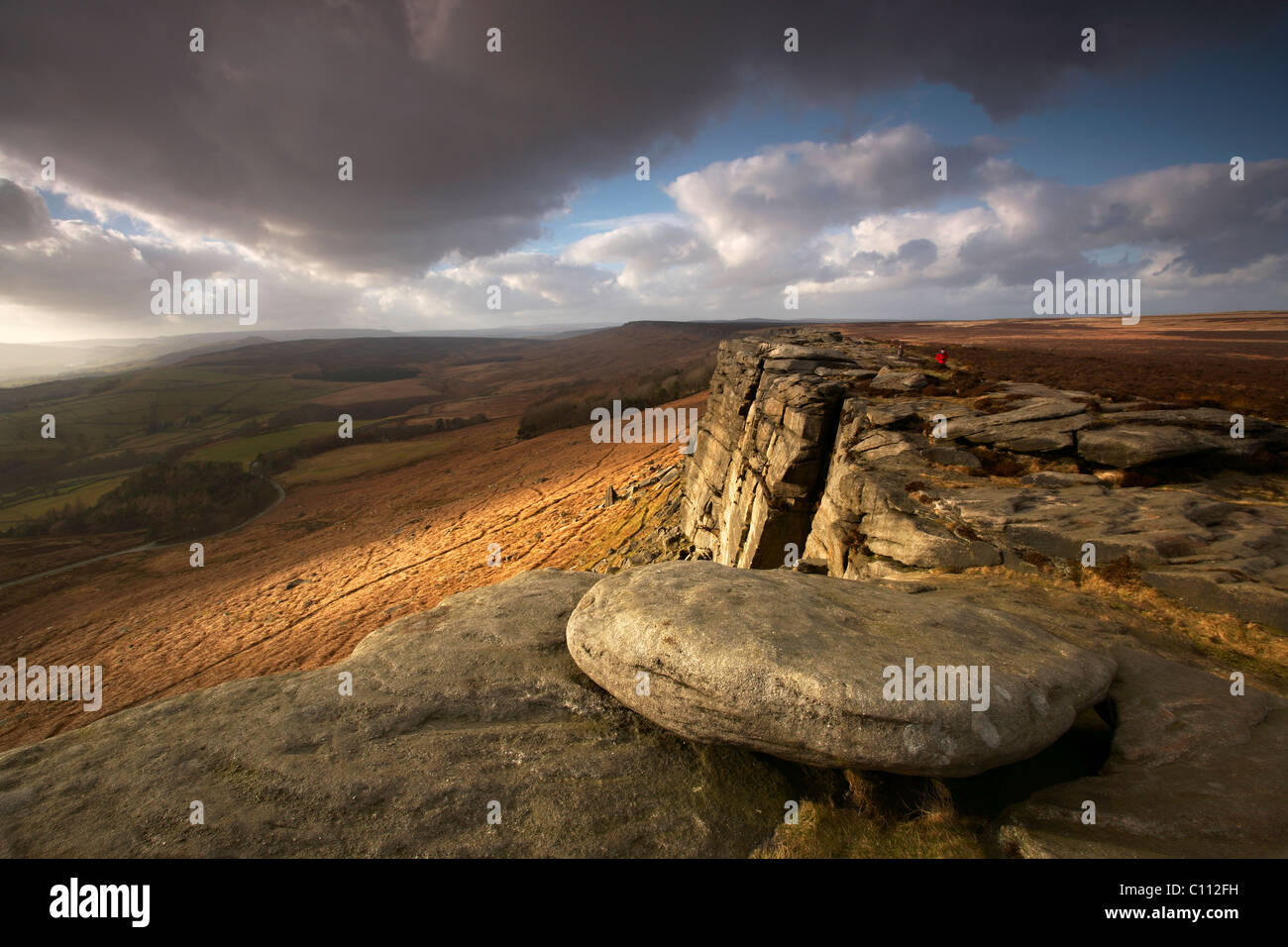 Stanage Edge - Stock Image