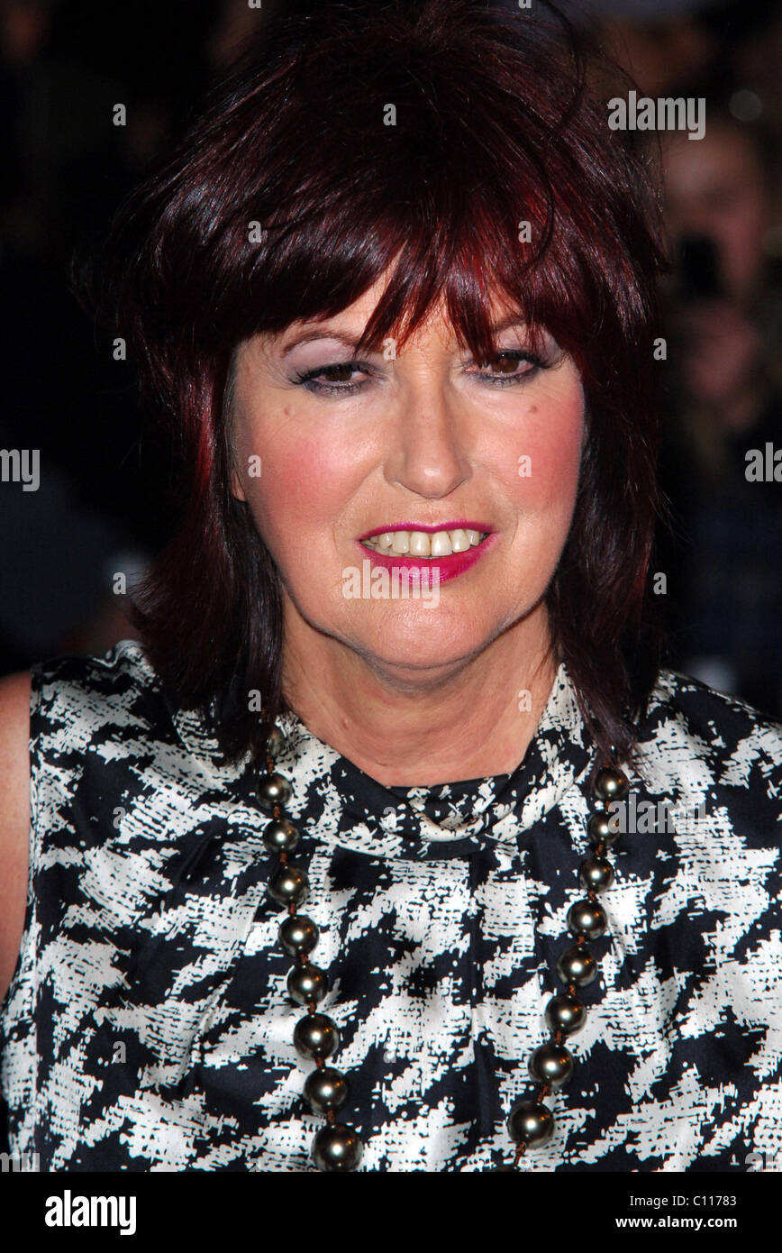Janet Street Porter The 2009 BRIT Awards - Red Carpet Arrivals held at Earls Court London, England - 18.02.09 - Stock Image