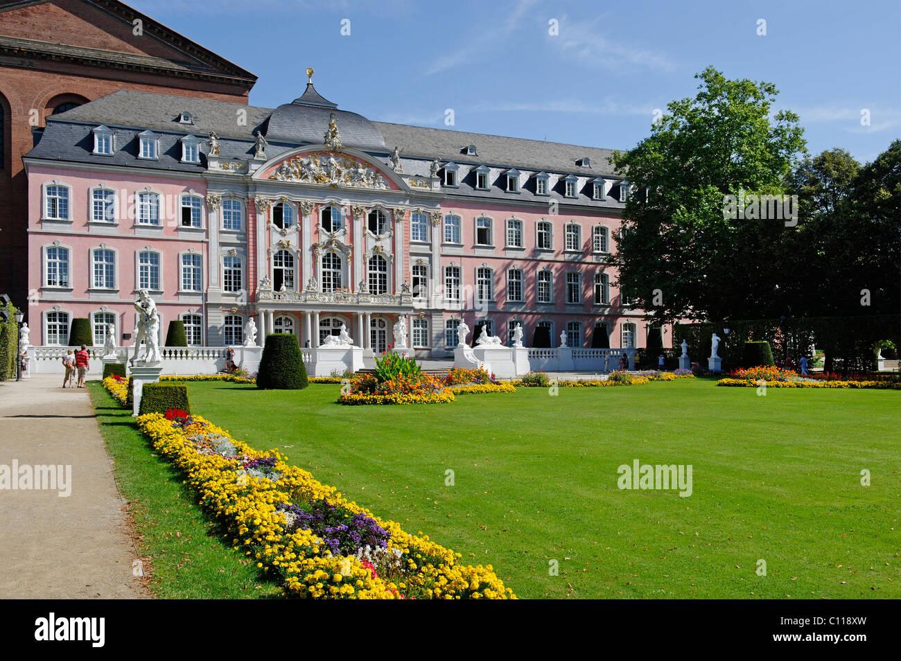 Electoral Palace, Trier, Rhineland-Palatinate, Germany, Europe Stock Photo