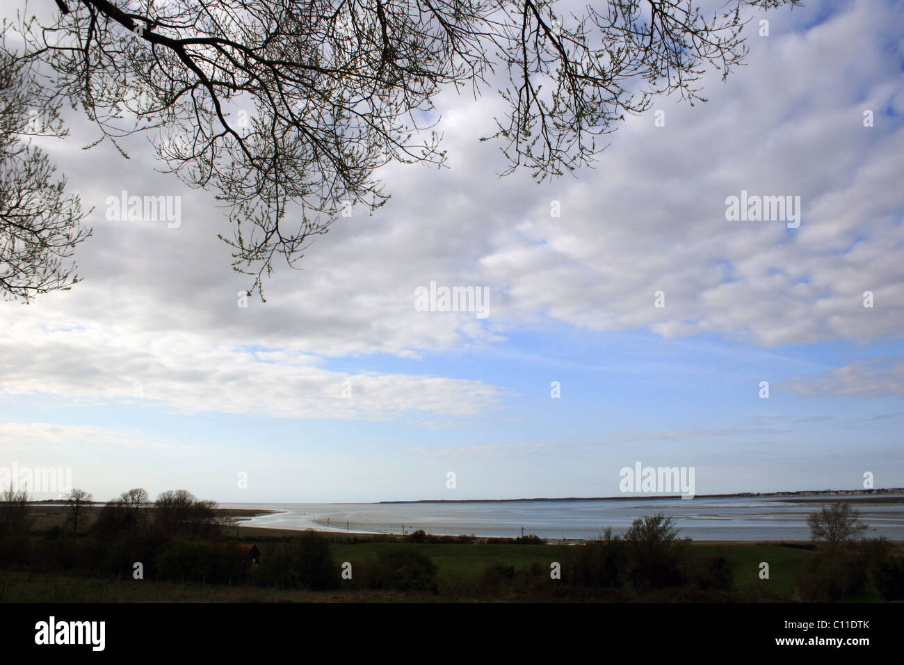 Picardie, St Valery sur Somme, France - Stock Image