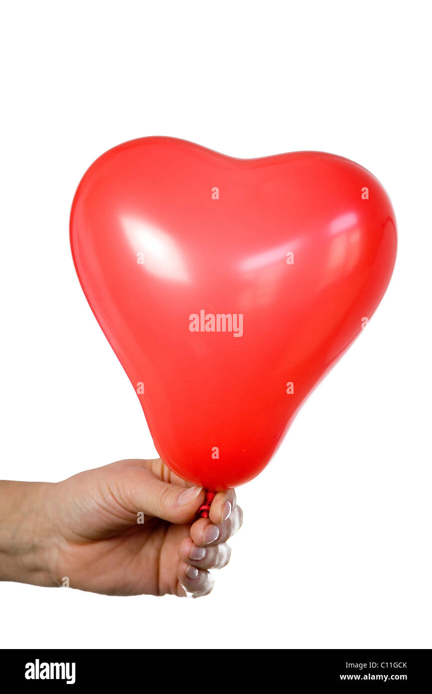 Heart Shaped Balloon Symbolic Stock Photos Heart Shaped Balloon