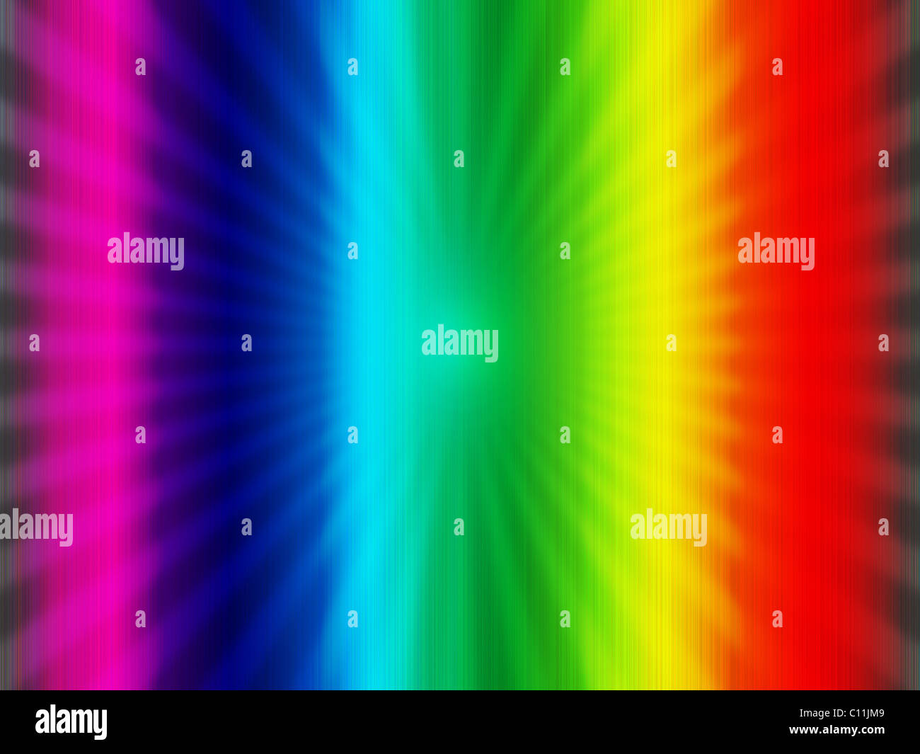 Rainbow Multicolor Abstract Background Stock Photo