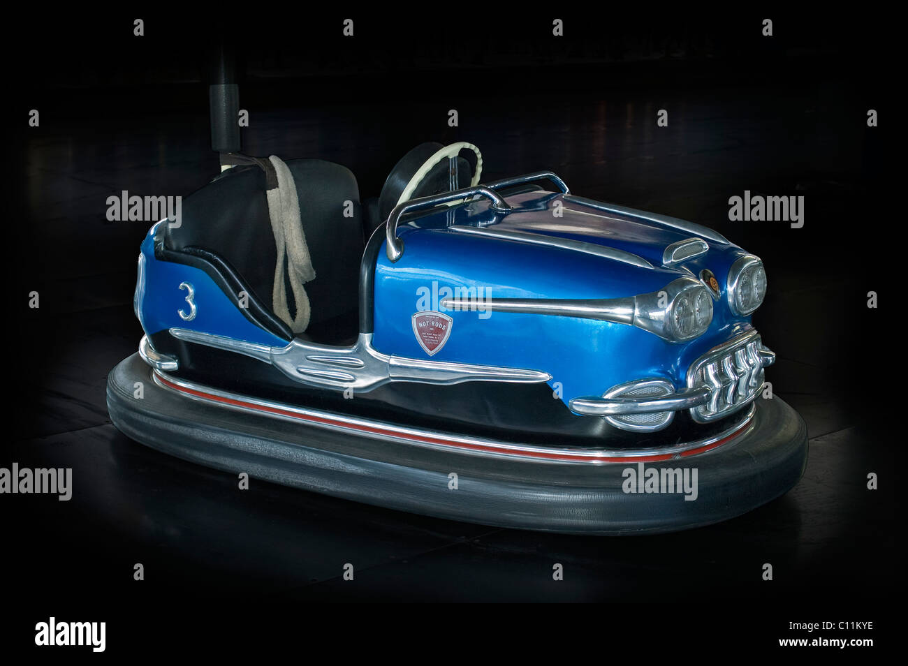 1960's Corvette bumper car - Stock Image