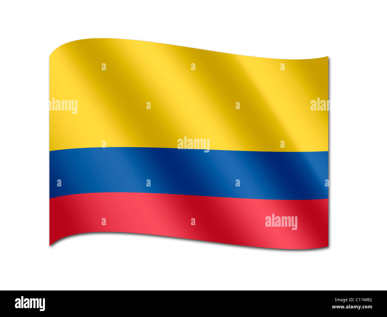National Symbols Flag Colombia Stock Photos National Symbols Flag