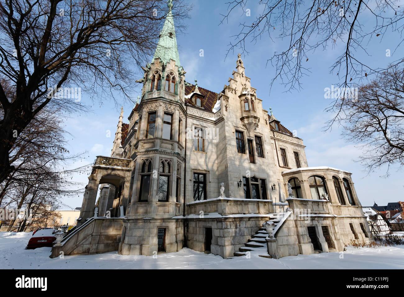 Pompous Villa In Neo Gothic Style Zum Marquis Castle Hotel Quedlinburg Harz Saxony Anhalt Germany Europe