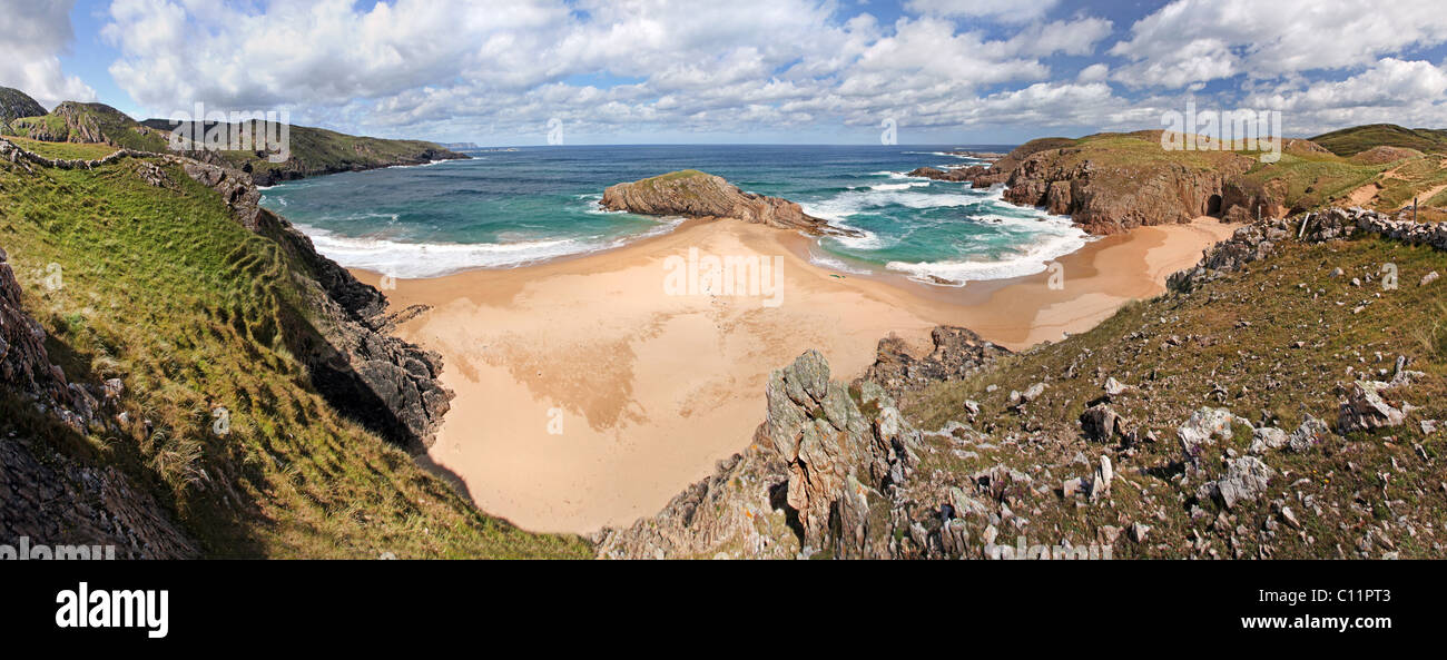 Boyeeghter Strand, Rosguill Peninsula, Donegal. - Stock Image