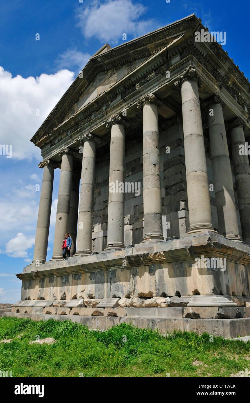 Historic Hellenistic Mithras Temple in Garni, Kotayk region, Armenia, Asia - Stock Image