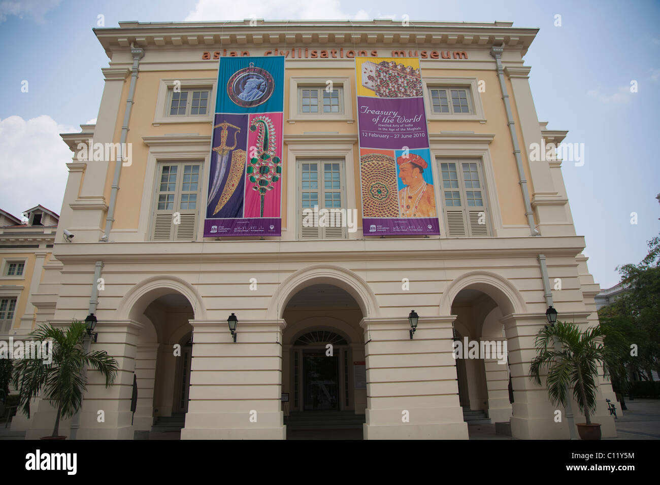 Asian Civilisations Museum, Singapore - Stock Image