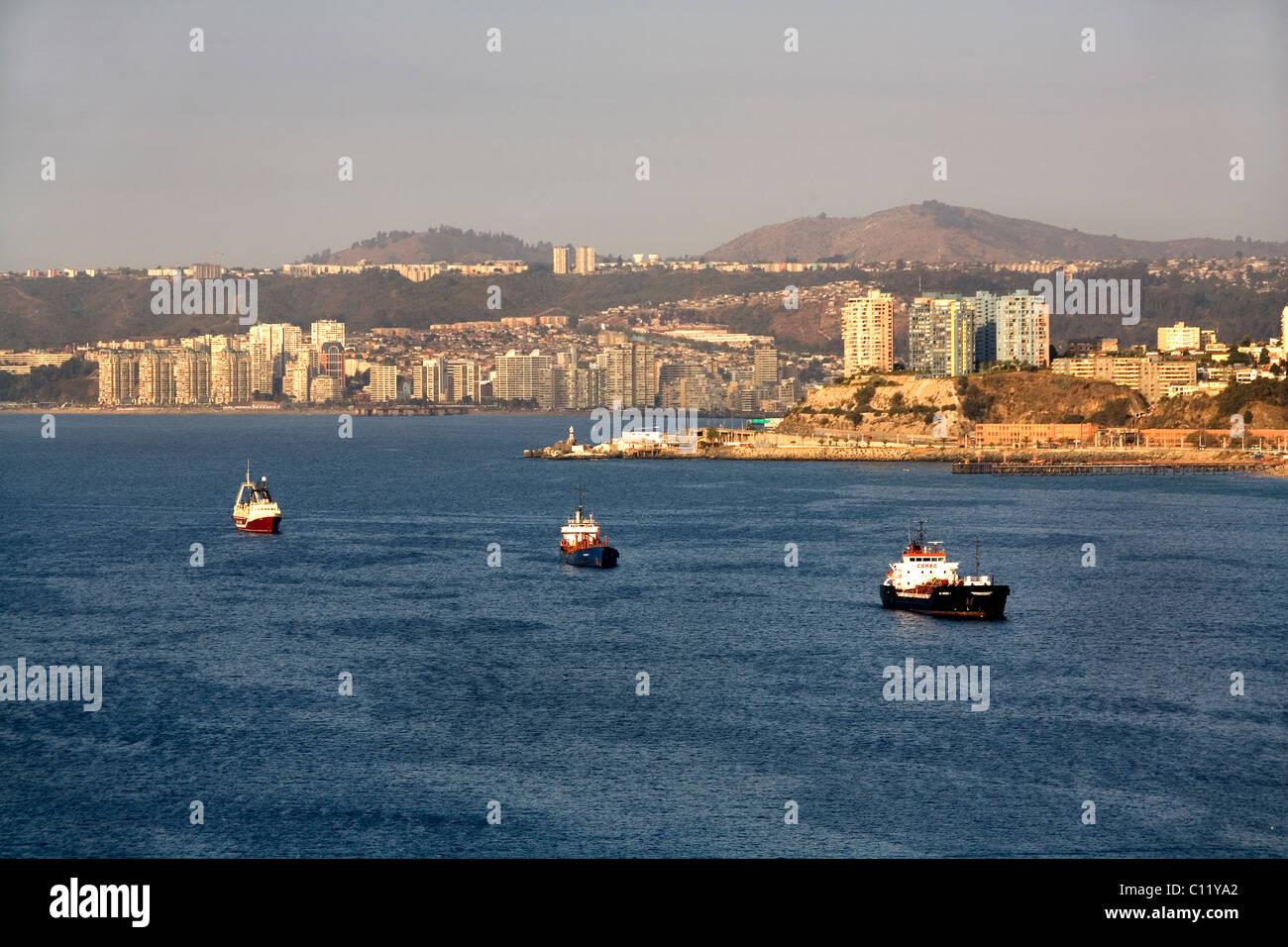 Valparaiso, Chile - Stock Image