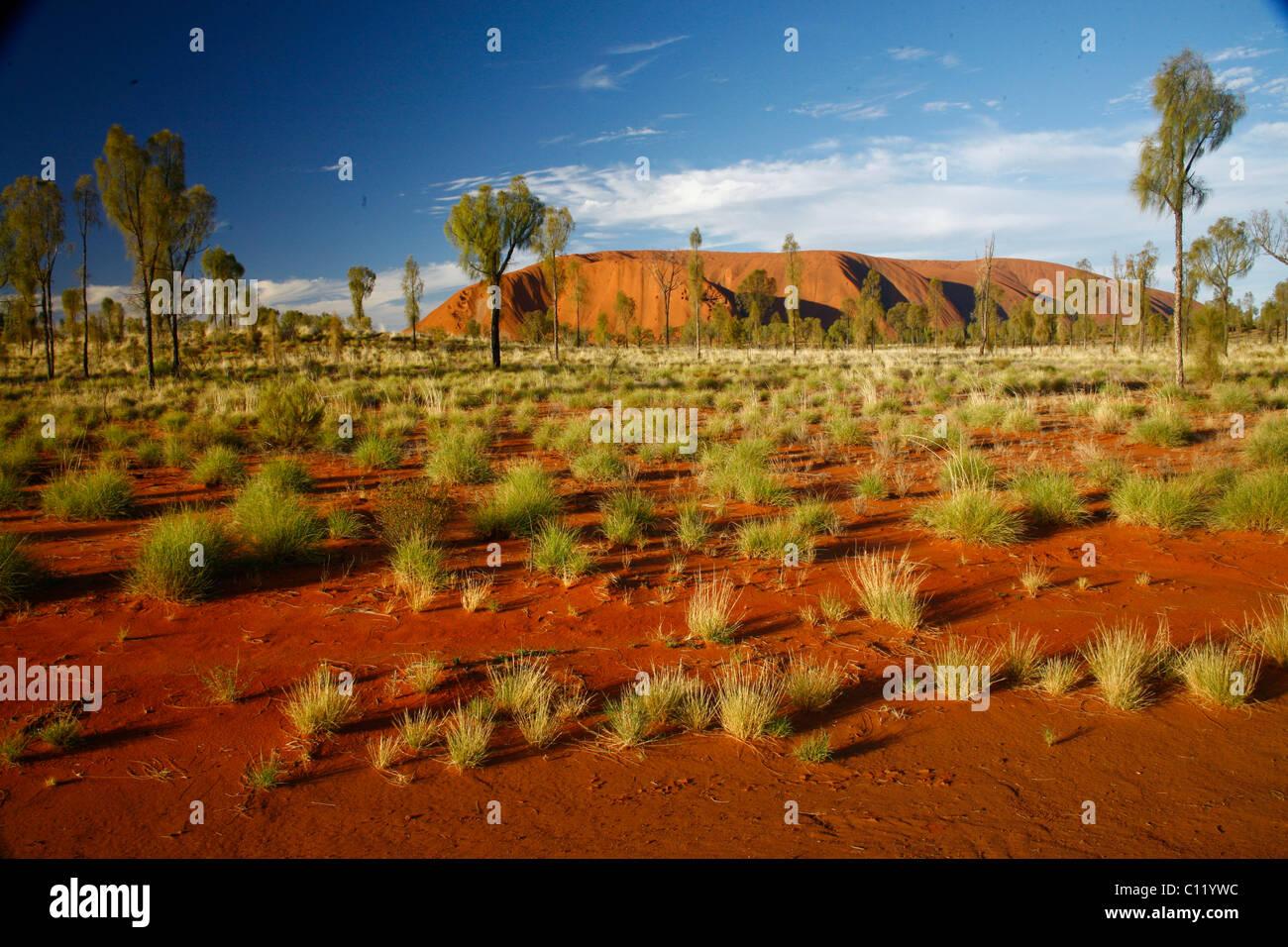 Ayers Rock, Uluru, Northern Territory, Australia - Stock Image