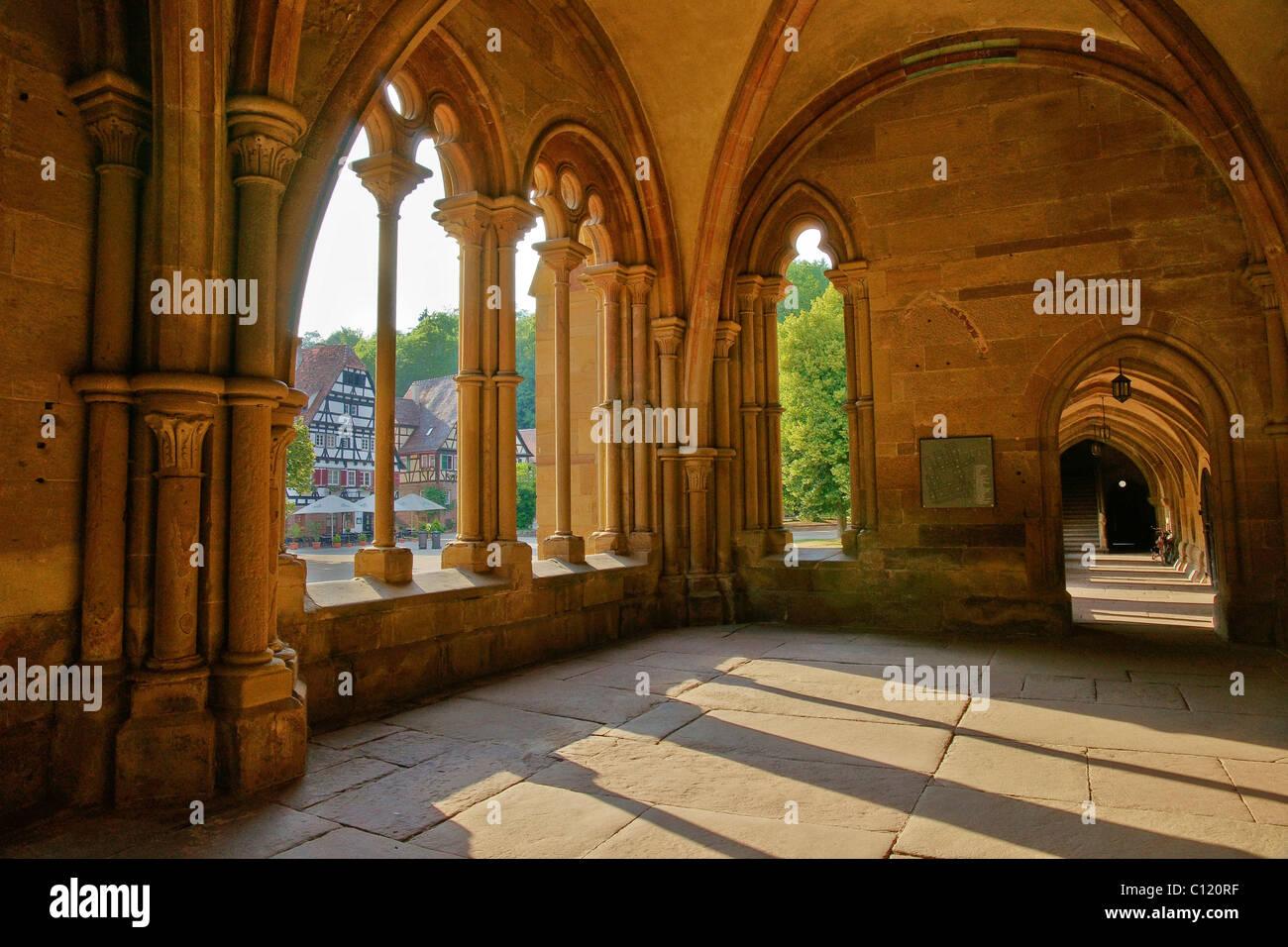 Hall of the Klosterkirche Maulbronn abbey church, Maulbronn, Baden-Wuerttemberg, Germany, Europe - Stock Image
