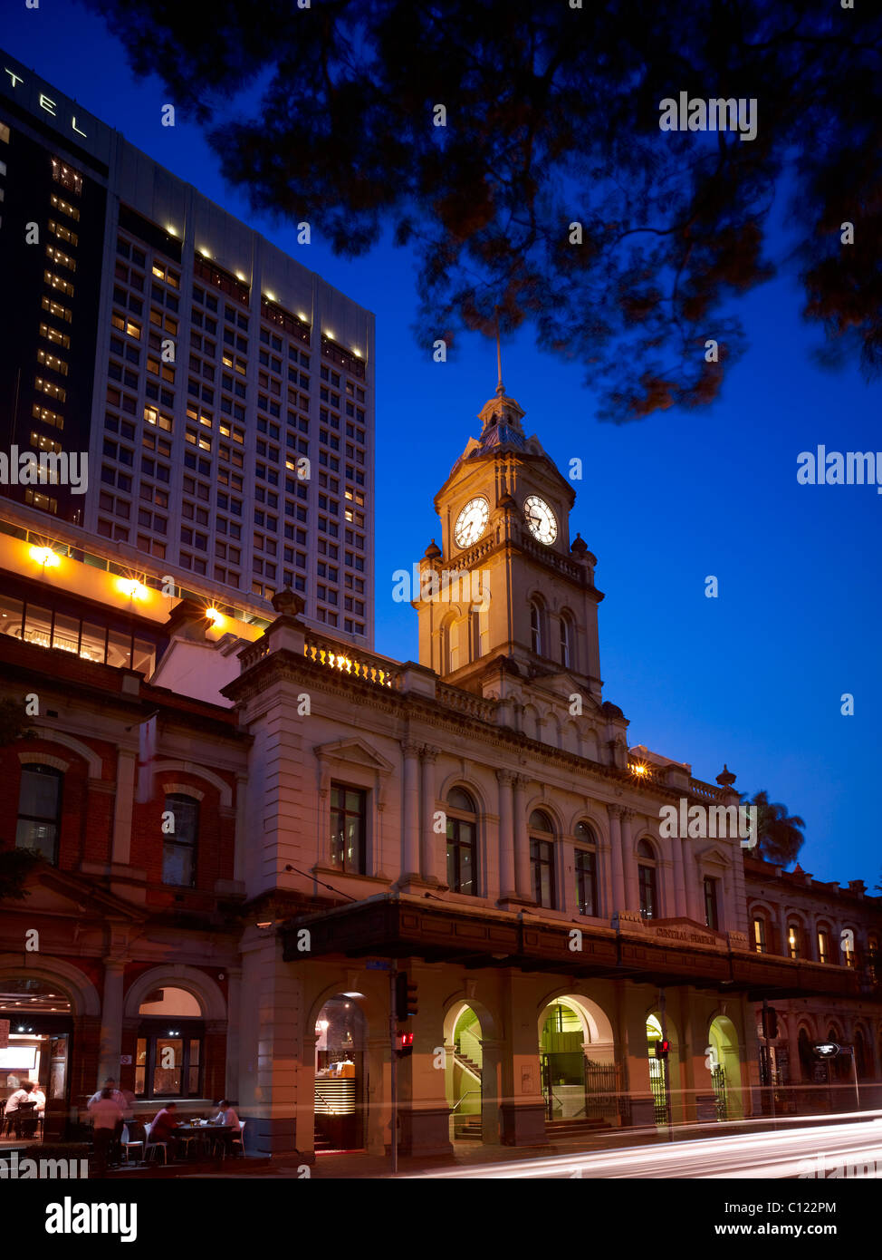 Brisbane Central Railway Station - Stock Image