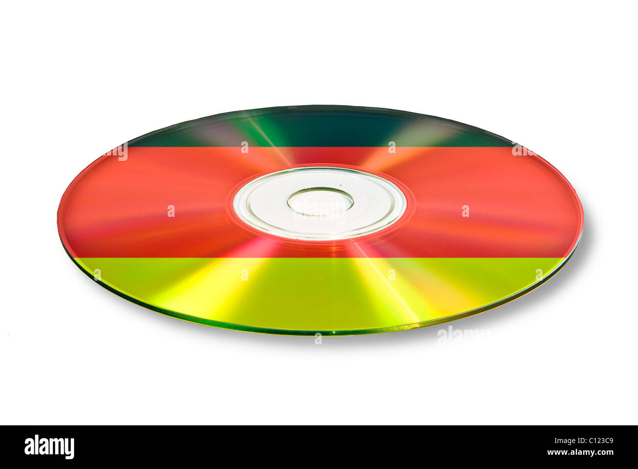 Data, account information, on CD, DVD, Germany - Stock Image