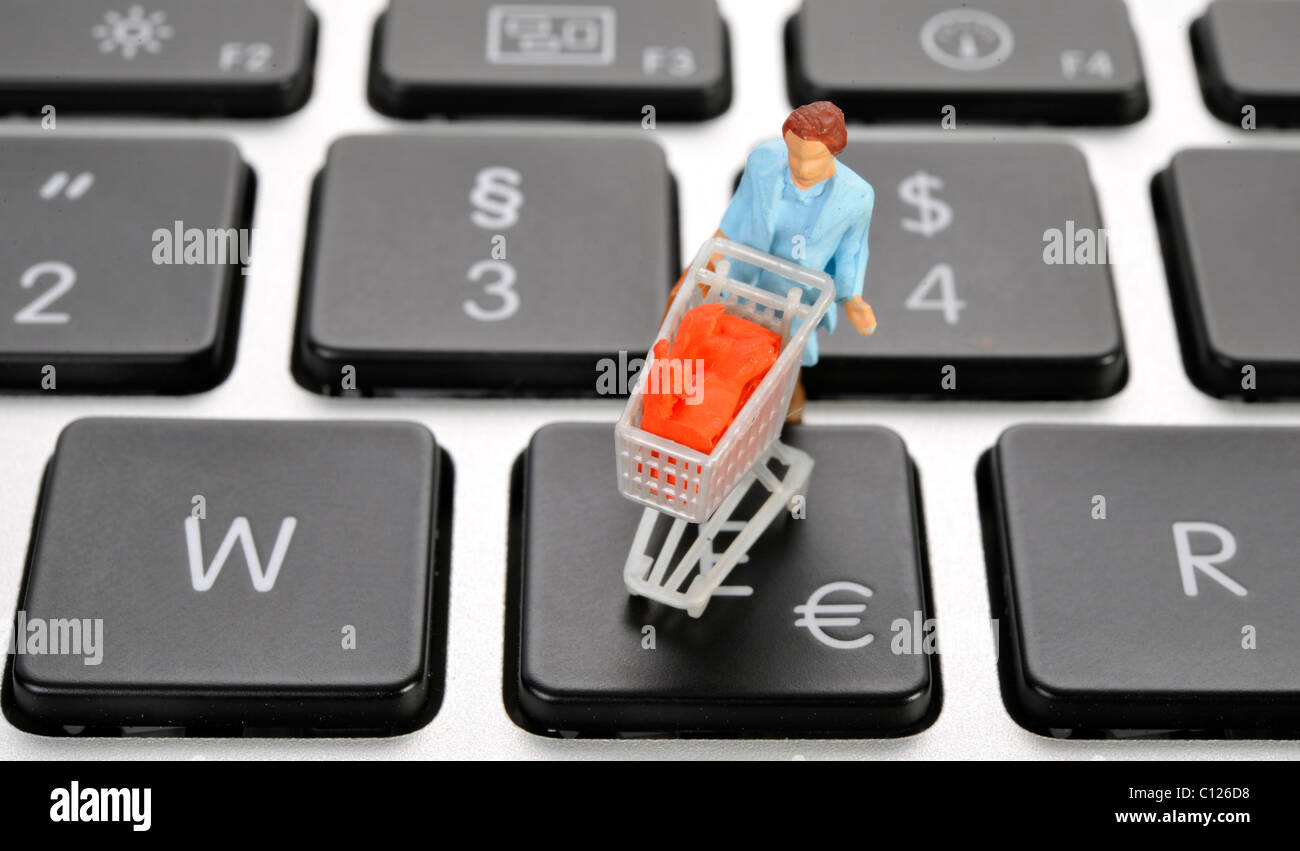 Keyboard Shopping Cart Key Stock Photos Keyboard Shopping Cart Key