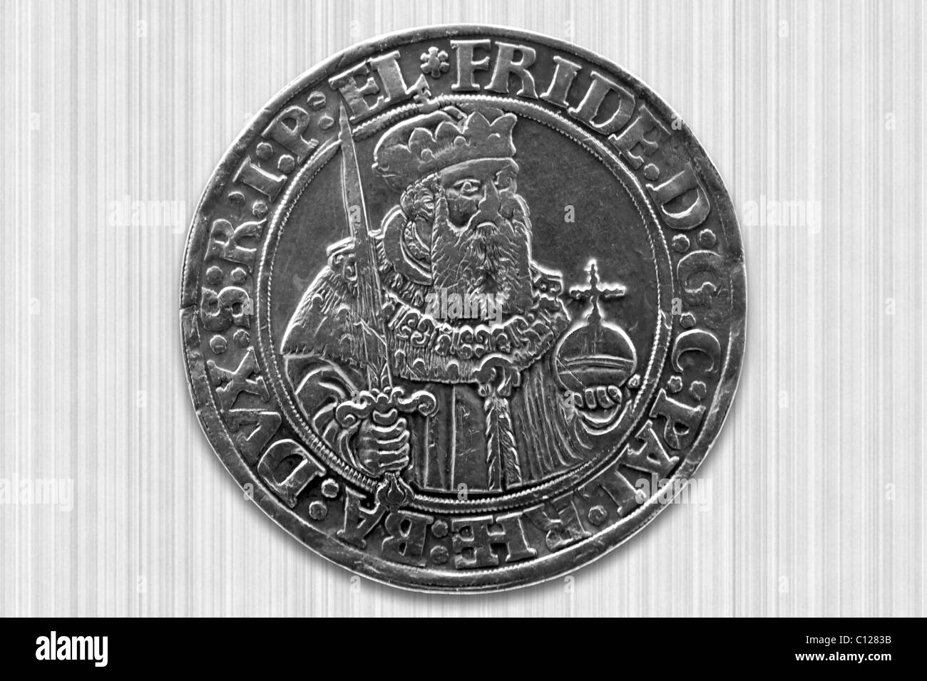 Old coin - Stock Image
