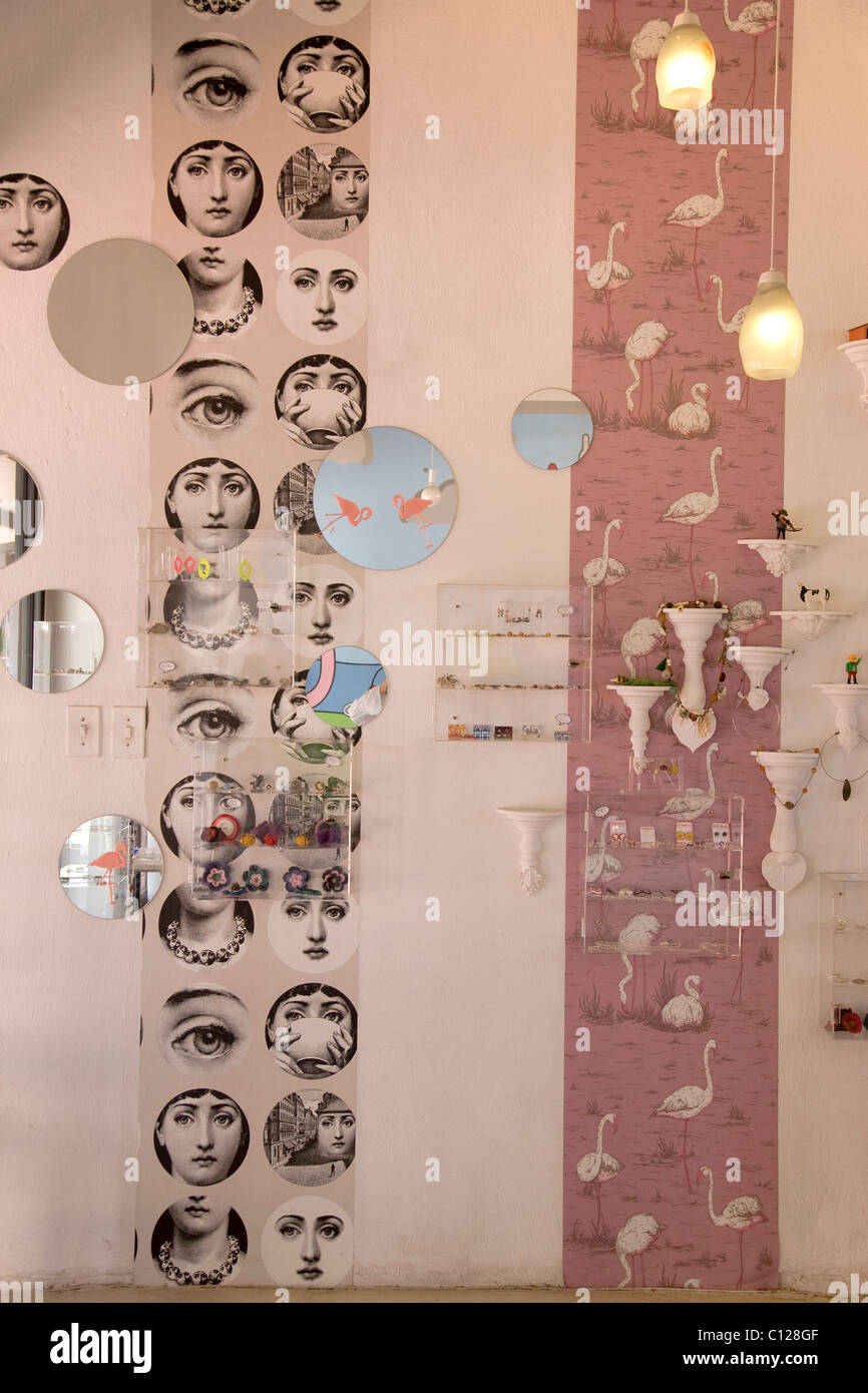 Jewelry Shop 'Tinsel' in the Old Buiscuit Mill, Cape Town, South Africa, Africa - Stock Image