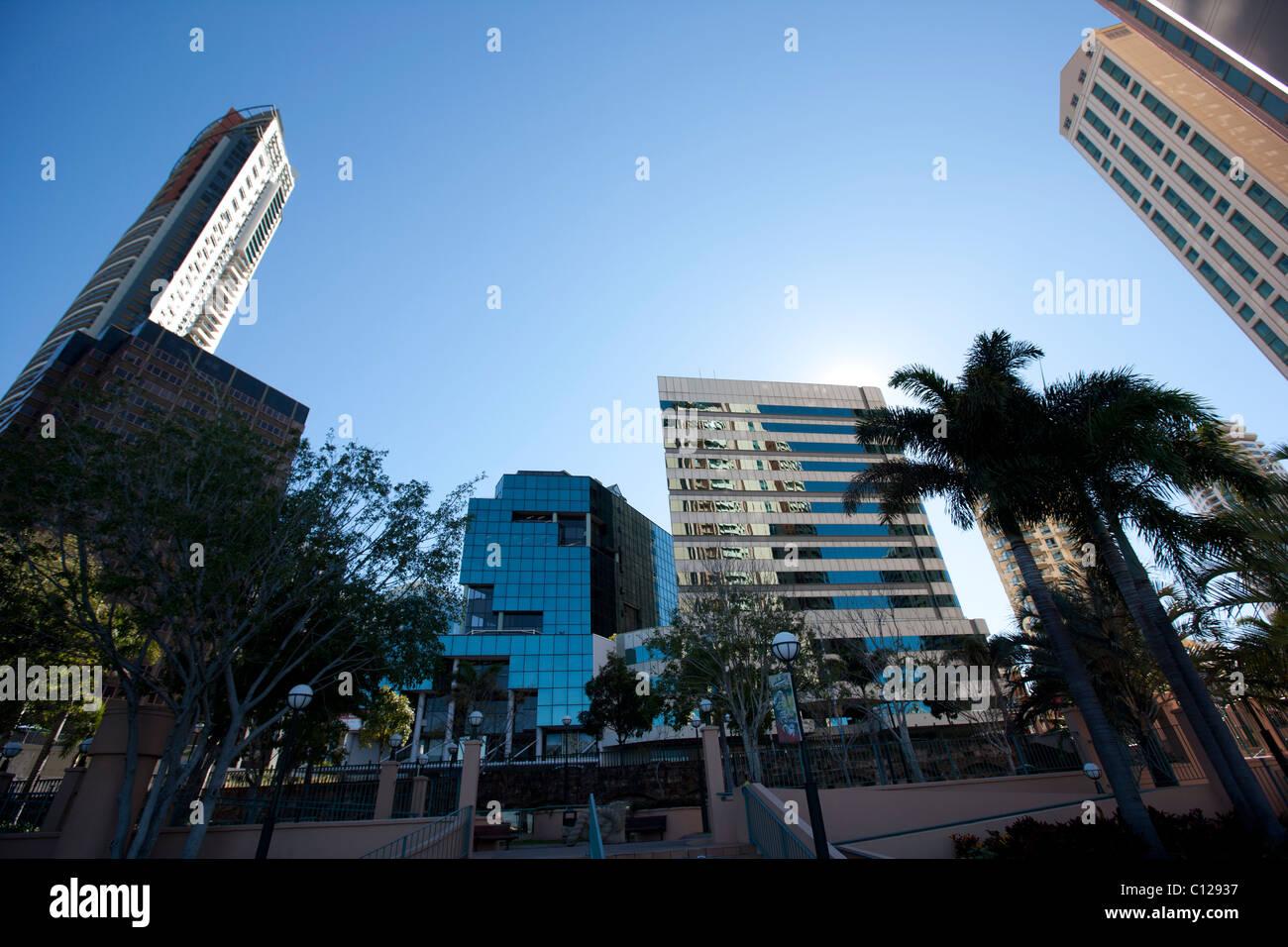 Brisbane CBD. - Stock Image