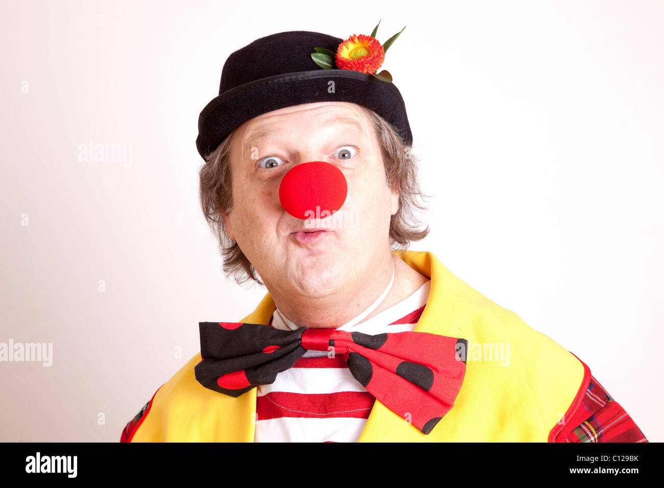 Clown - Stock Image