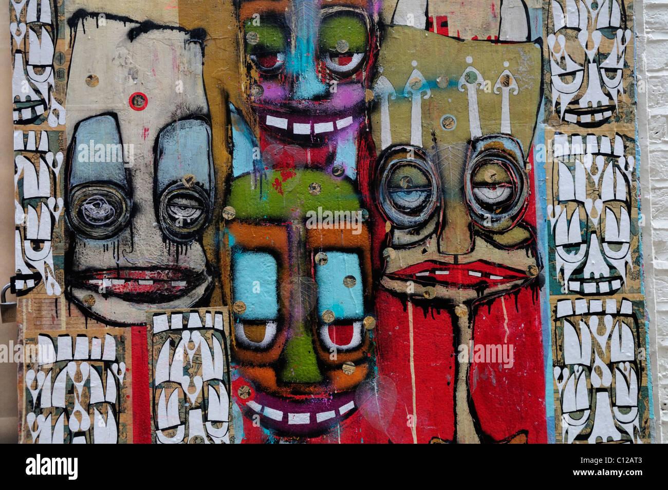 Graffiti on A Skateboarding Shop, Neal\'s Yard, Covent Garden Stock ...