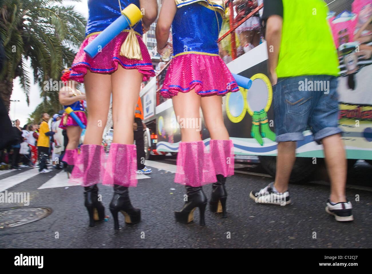 f42a52fcc3d Drag Queen Carnival On Gran Stock Photos & Drag Queen Carnival On ...