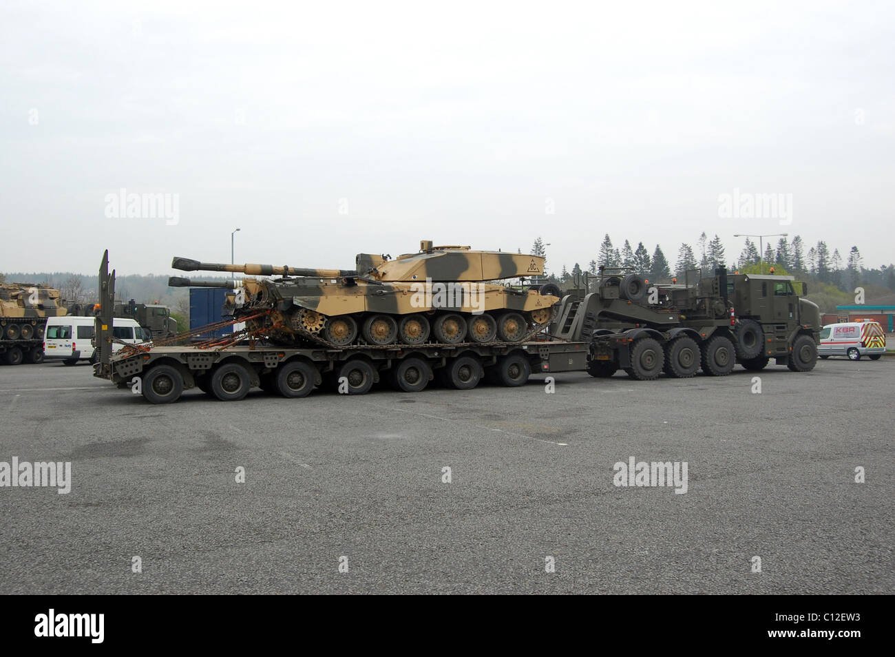 Military Transport Tanks