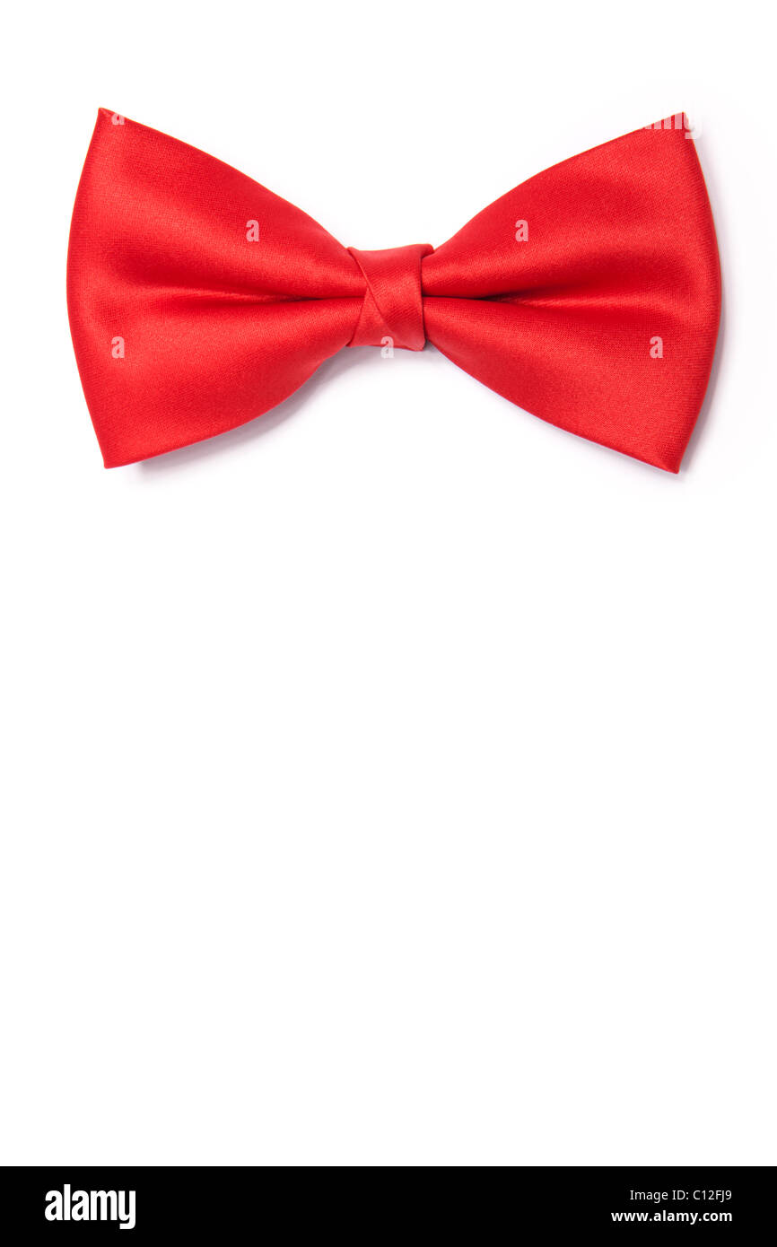 60614a3b A Single Red Bow Tie Stock Photo: 35091569 - Alamy