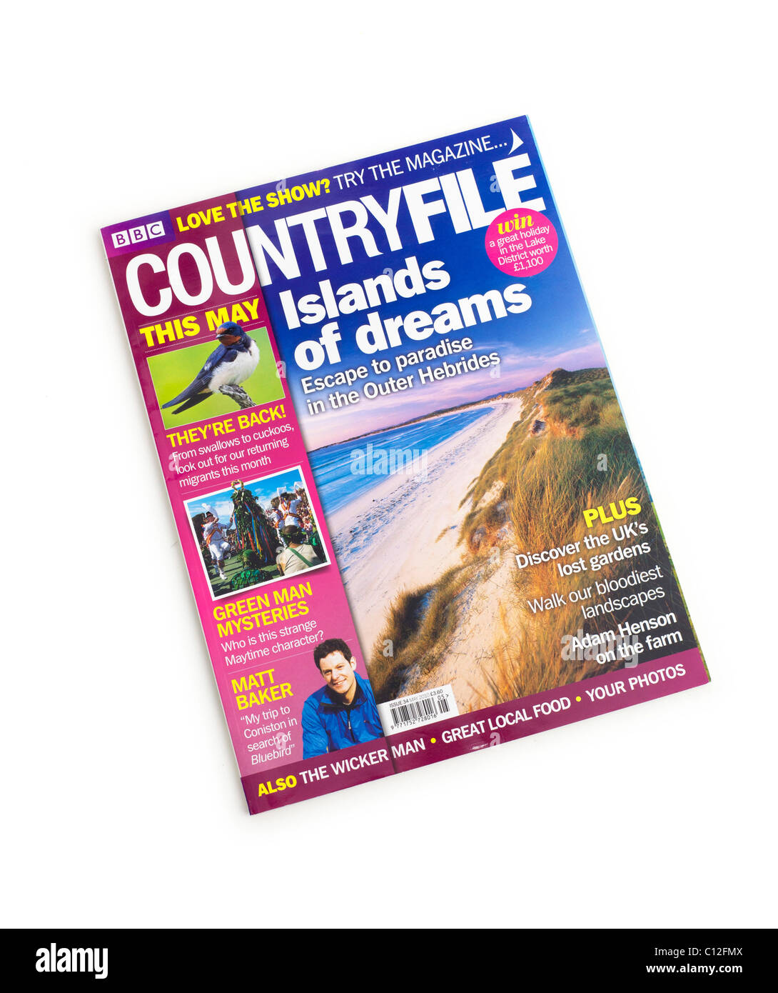 CountryFile magazine - Stock Image