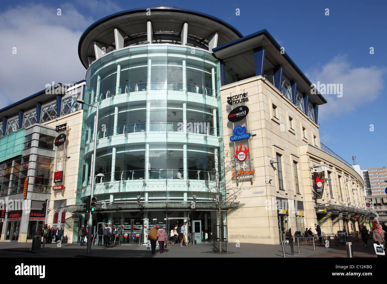 The Corner House, Nottingham, England, U.K. - Stock Image