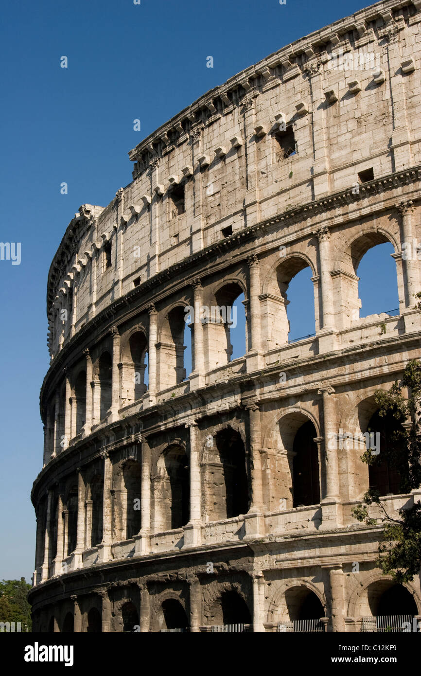 Colosseum in Rom in Italy Stock Photo