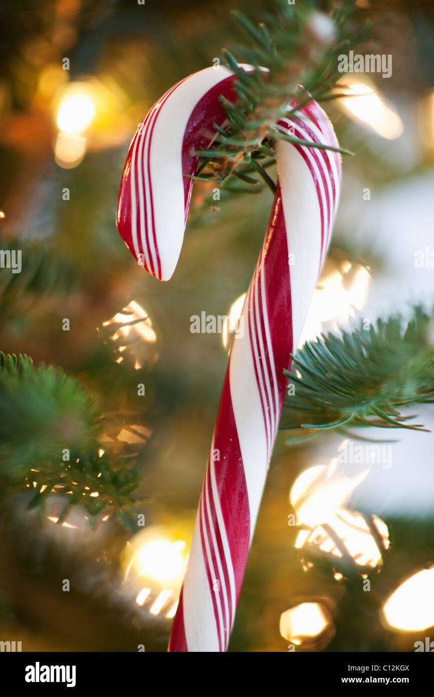 how to make a candy cane tree