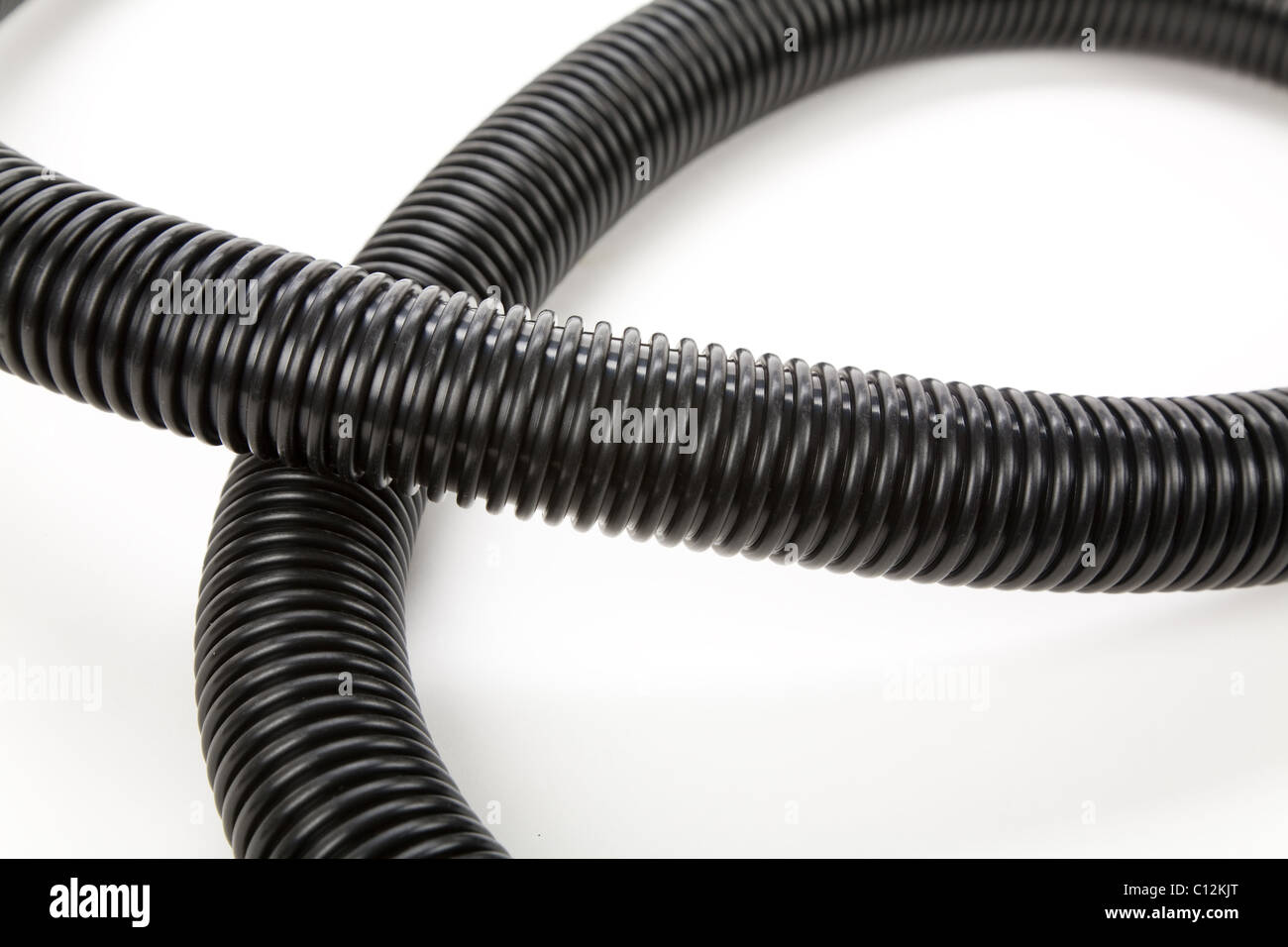 Corrugated Tube for Vacuum Cleaner - Stock Image
