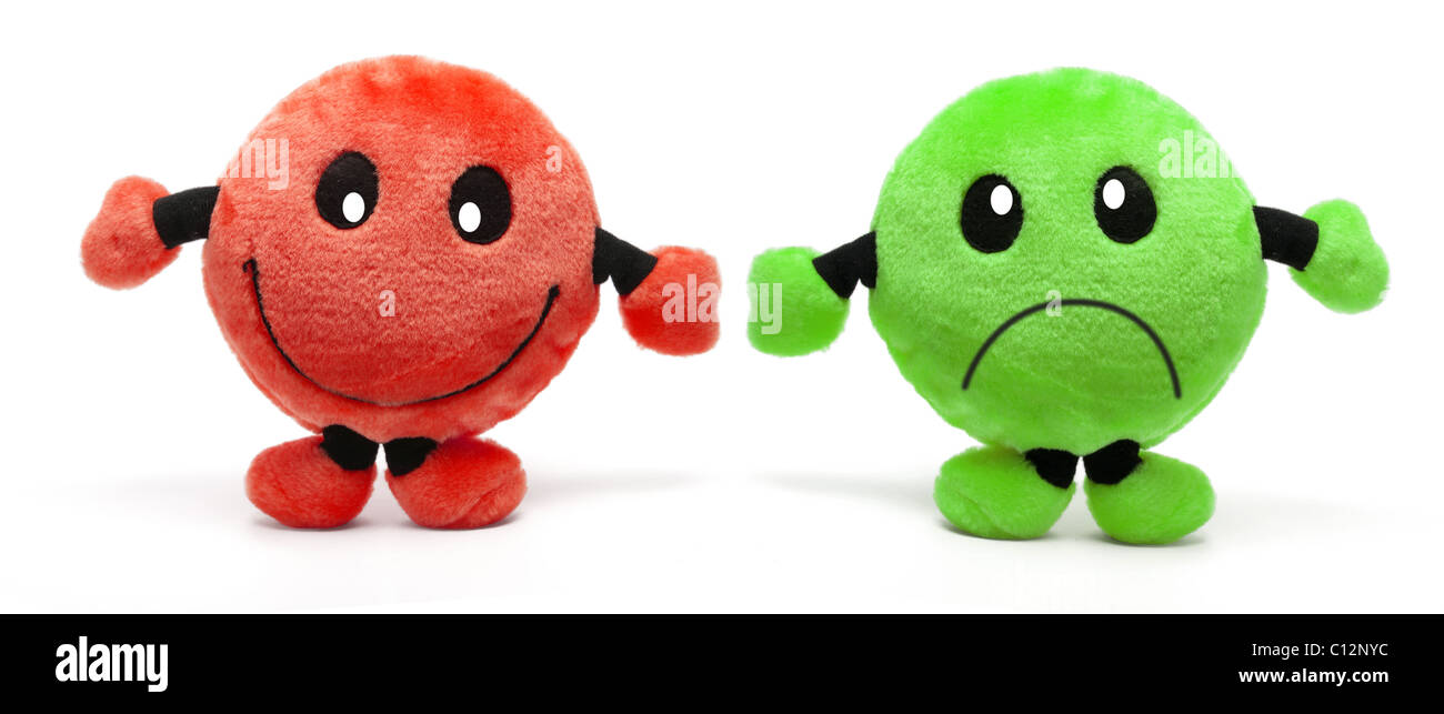 Smiley Soft Toys - Stock Image