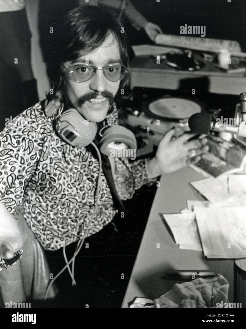 Tommy Vance 1940 2005 English Dj And Radio Presenter