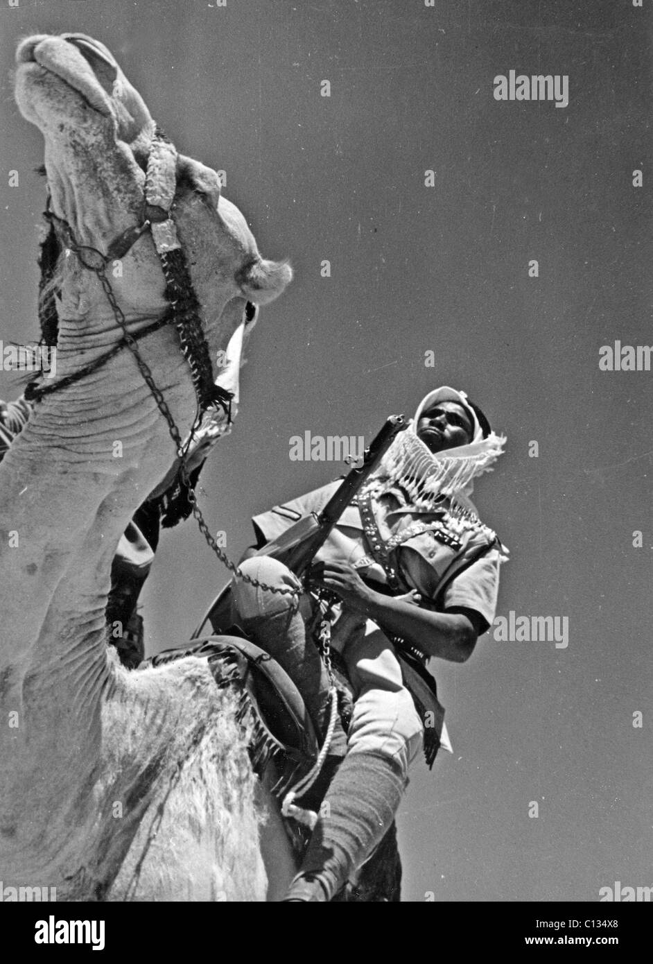 SPANISH FOREIGN LEGION in Morocco about 1956 - Stock Image